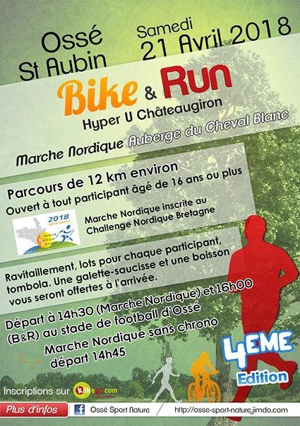 Bandeau de la page '4è édition Bike and Run