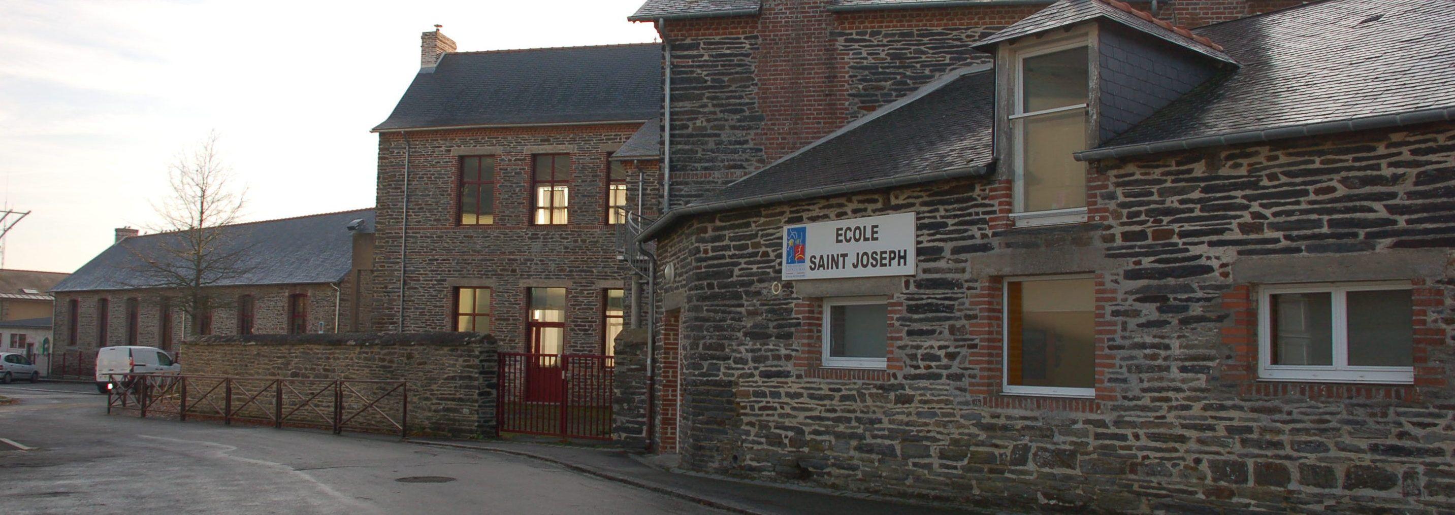 Bandeau de la page 'Ecole privée Saint Joseph