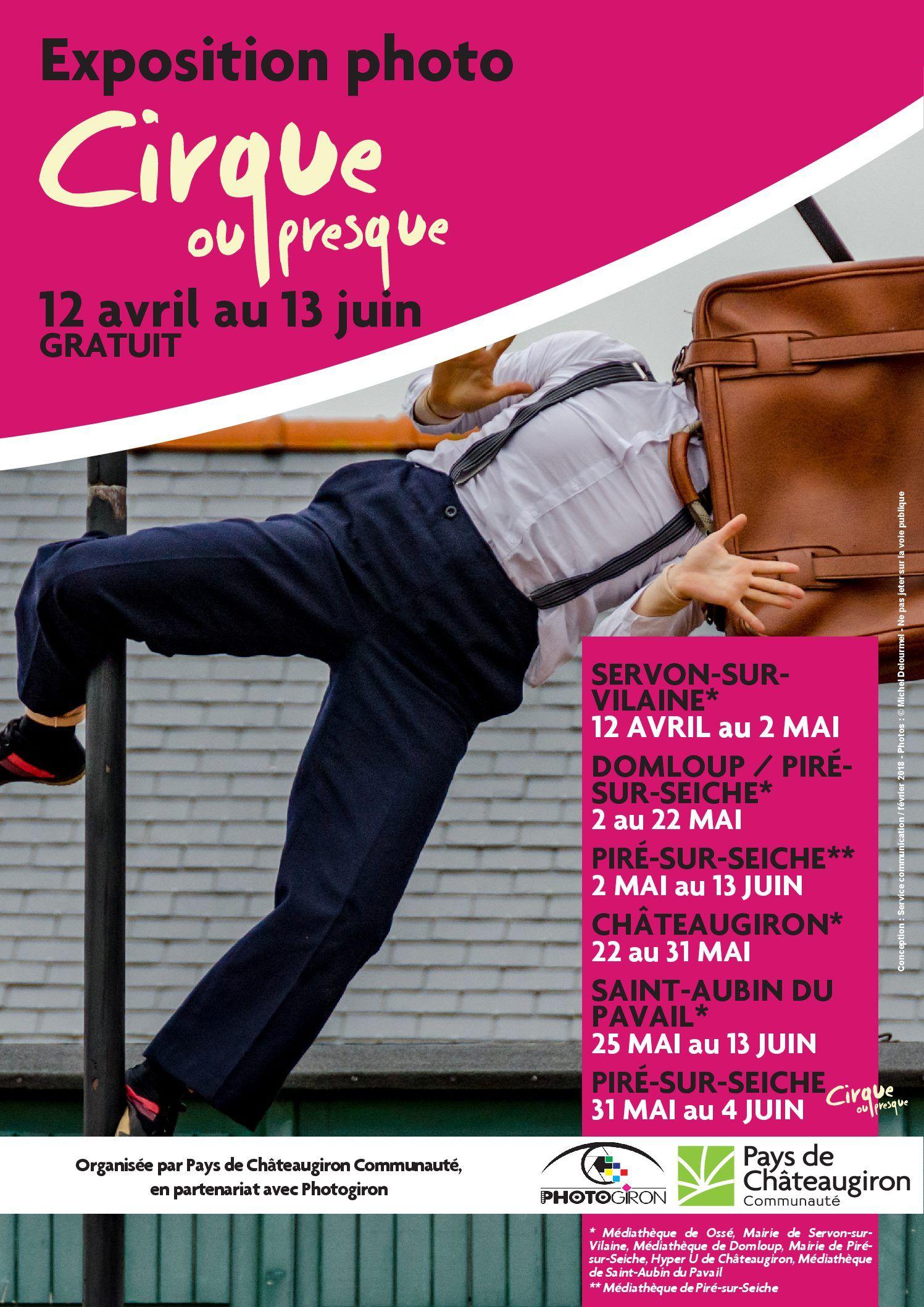 Affiche expo itinerante