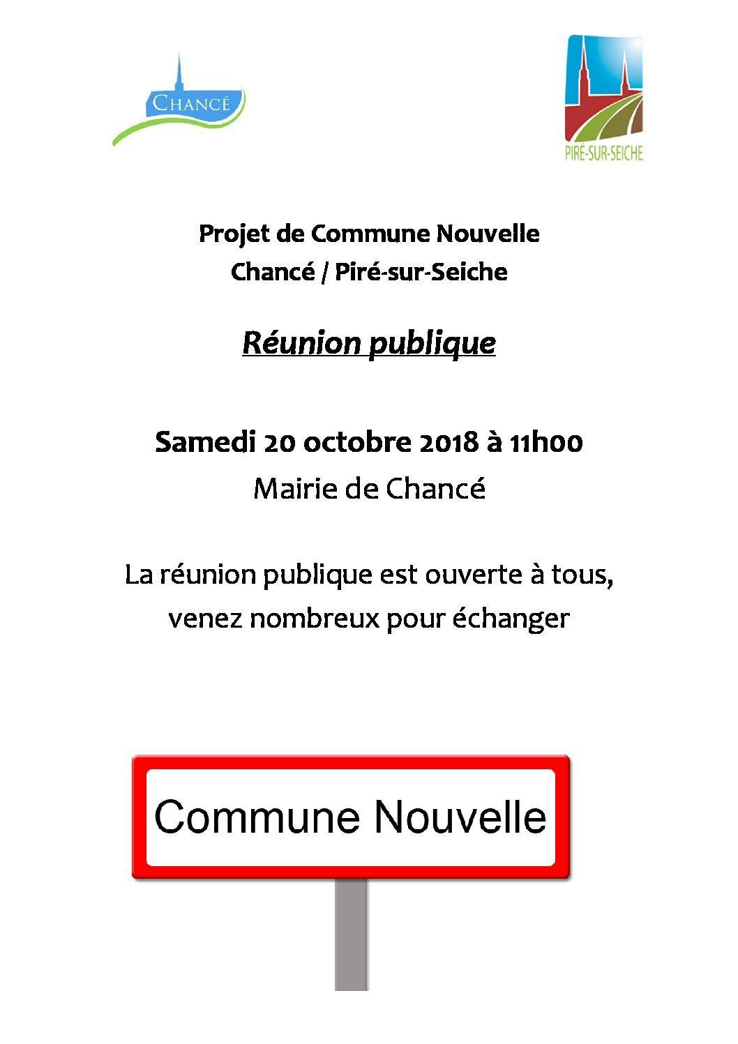 Affiche Réunion publique 20 oct